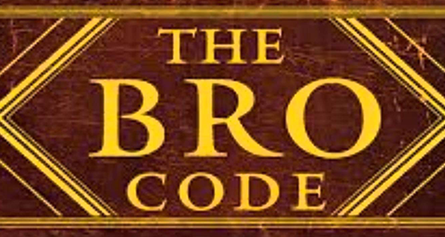 Image with the word Bro Code